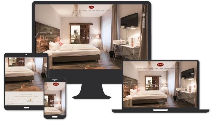 Webseite für Hotel Adelsdorf bei Erlangen