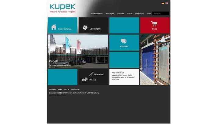 Website für Logistik Unternehmen, Coburg