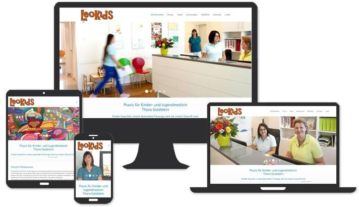 Webseite Praxis für Kinder- und Jugendmedizin