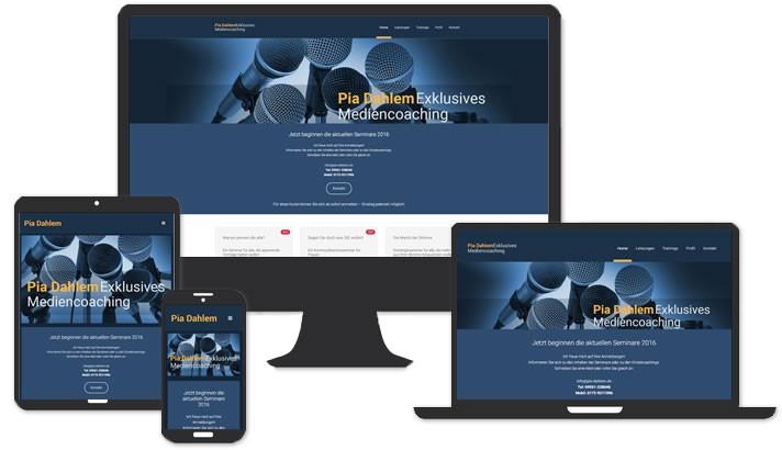 Webseite Mediencoaching Coburg