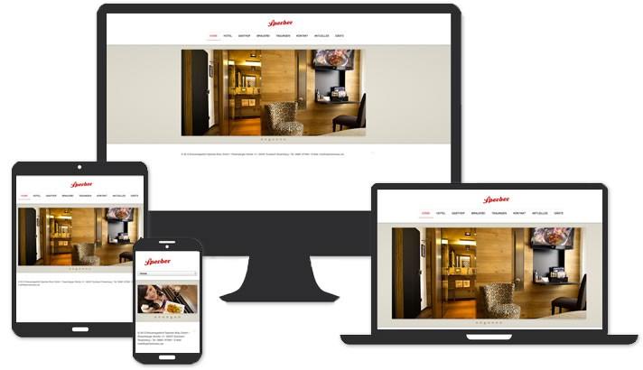 Webseite für Hotel - Gasthof Sulzbach Rosenberg