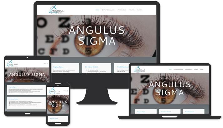 Webdesign  Angulus Sigma - Das Refraktionssystem