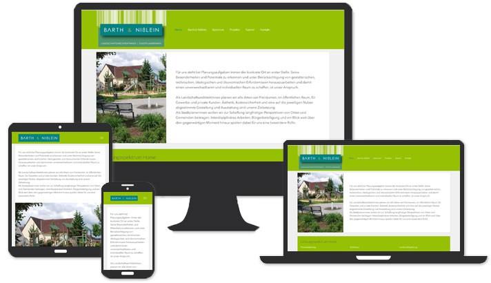 Homepage für Landschaftsarchitekten Höchstadt - Auerbach