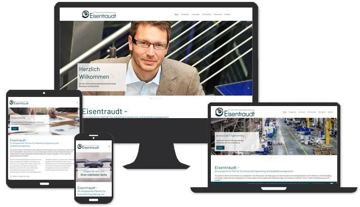 Homepage Unternehmensberatung Eisentraudt, Neuhaus-Schierschnitz