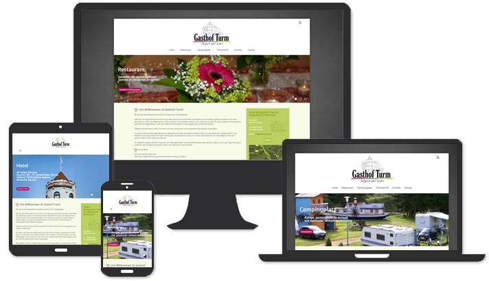 Webseite für Hotel - Gasthof Schönwald, Fichtelgebirge