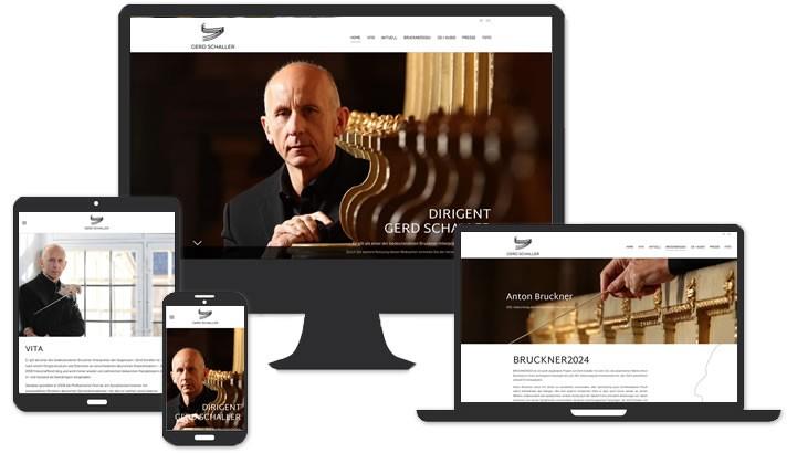 Website Dirigent Berlin