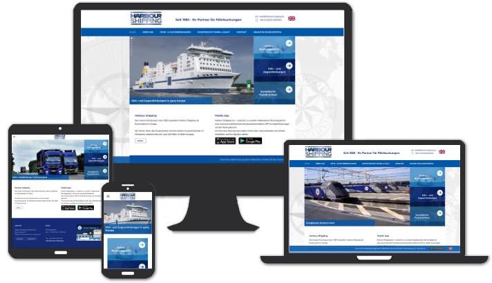 Webseite für Harbour Shipping Deutschland Reichertshofen / Ingolstadt