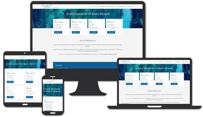 Webseite für Webseite für (ÜBAG) Hausarztcenter Albstadt