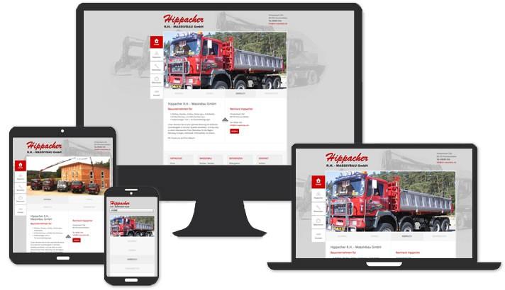 Homepage Bauunternehmen Pommersfelden / Bamberg