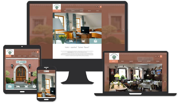 Hotel Homepage in Pommersfelden Bamberg