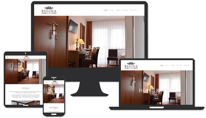 Webseite für Hotel Ludwigshafen am Rhein