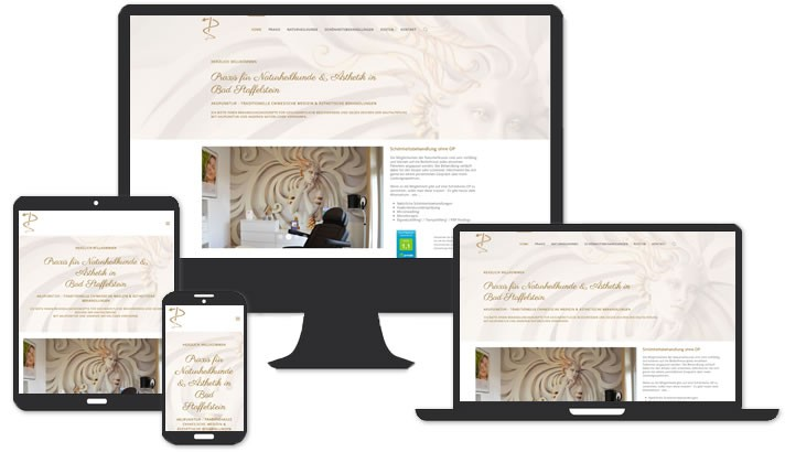 Homepage für Praxis für Naturheilkunde & Ästhetik in Bad Staffelstein
