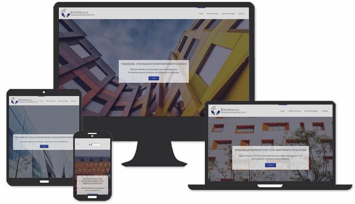 Webdesign Immobilienbewertung Erlangen - Coburg