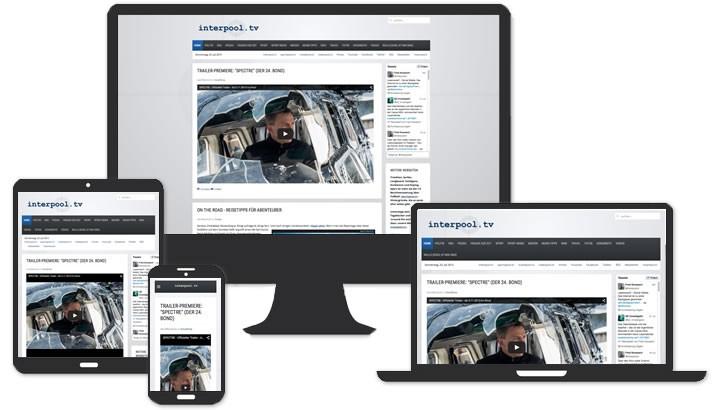 Webseite interpool.tv Köln