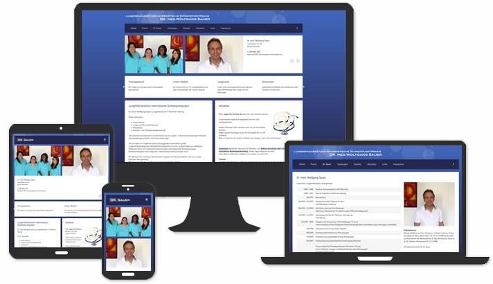 Lungenfacharzt Homepage Erstellung München