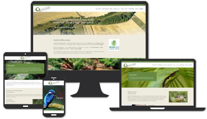 Webseite für Zweckverband