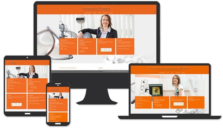 Website für Augenarzt Hannover