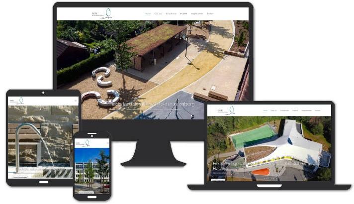 Homepage riede landschaftsarchitektur, nürnberg