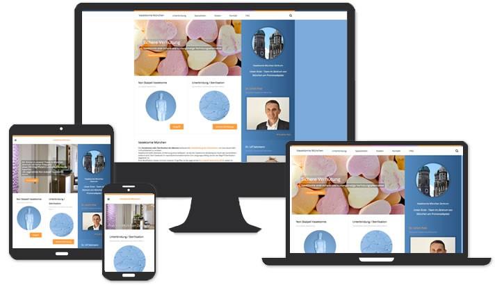 Homepage Vasektomie München