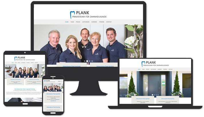 Website für Zahnarzt in Ingolstadt & Kösching